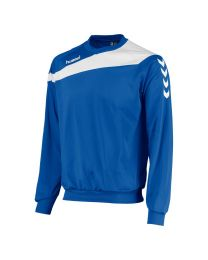 Hummel Elite Top Round Neck Blauw Wit