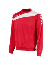 Hummel Elite Top Round Neck Rood Wit
