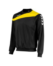 Hummel Elite Top Round Neck Geel Zwart