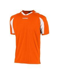 Hummel Everton Shirt KM Oranje Wit
