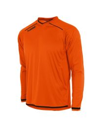 Hummel Leeds Shirt LM Oranje Zwart