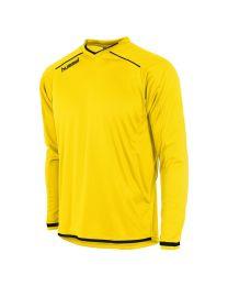 Hummel Leeds Shirt LM Geel Zwart