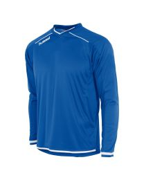 Hummel Leeds Shirt LM Blauw Wit