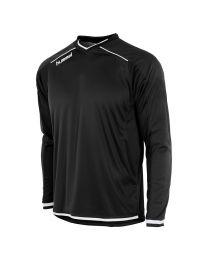 Hummel Leeds Shirt LM Zwart Wit
