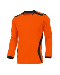 Hummel Club Shirt LM Oranje Zwart