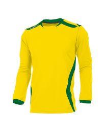 Hummel Club Shirt LM Geel Groen