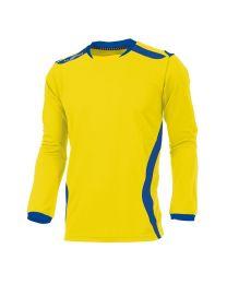 Hummel Club Shirt LM Geel Blauw