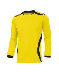 Hummel Club Shirt LM Geel Zwart