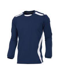 Hummel Club Shirt LM Navy Wit