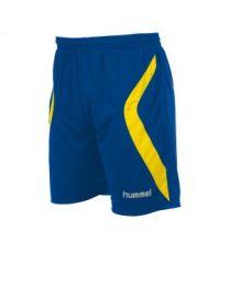 Manchester Short Kobalt Geel