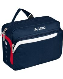 JAKO Toilettas Performance marine/wit/rood