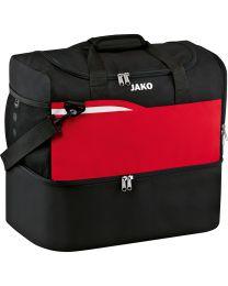 JAKO Sporttas Competition 2.0 zwart/rood