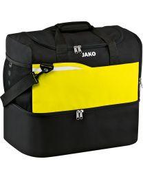 JAKO Sporttas Competition 2.0 zwart/fluo geel