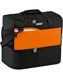 JAKO Sporttas Competition 2.0 zwart/fluo oranje
