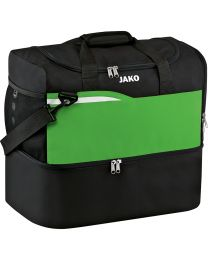 JAKO Sporttas Competition 2.0 zwart/soft groen