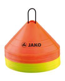 JAKO Markeringshoedjes oranje/geel