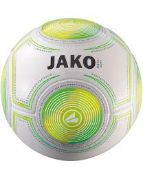 JAKO Lightbal Match 14 p./handgenaaid wit/fluogroen/fluogeel-290g