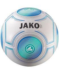 JAKO Lightbal Match 14 p./handgenaaid wit/aqua/JAKO blauw-350g