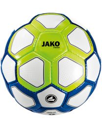 JAKO Trainingsbal Striker wit/marine/fluo groen