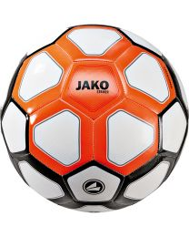 JAKO Trainingsbal Striker MS wit/fluo oranje/zwart