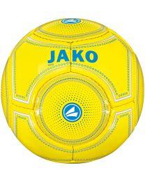 JAKO Minibal 14 p./machinegenaaid geel/JAKO blauw