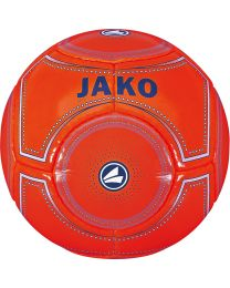 JAKO Minibal 14 p./machinegenaaid flame/nachtblauw