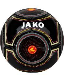 JAKO Minibal 14 p./machinegenaaid zwart/rood/goud