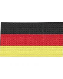 JAKO Aanvoerdersband zwart/rood/geel
