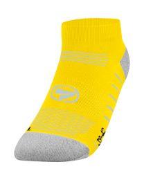 JAKO Running sokken Low Cut fluogeel