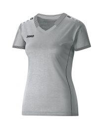 JAKO Indoorshirt dames grijs gemeleerd