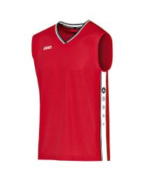 JAKO Shirt Center rood/zwart