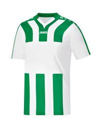 JAKO Shirt Santos KM wit/sportgroen