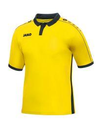JAKO Shirt Derby KM citroen/zwart