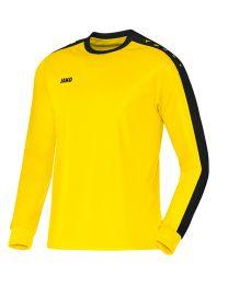 JAKO Shirt Striker LM citroen/zwart