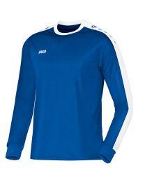 JAKO Shirt Striker LM royal/wit