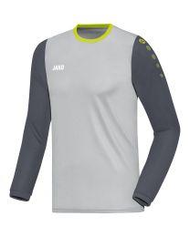 JAKO Shirt Leeds LM antraciet/donkergrijs/lime