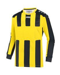 JAKO Shirt Milan LM citroen/zwart