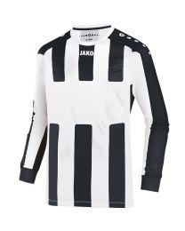 JAKO Shirt Milan LM wit/zwart