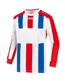 JAKO Shirt Milan LM wit/rood/royal
