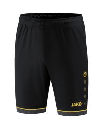 JAKO Short Competition 2.0 zwart/goud