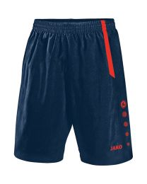 JAKO Short Turin navy/flame
