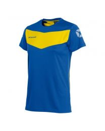 Stanno Fiero Training Shirt Dames Blauw Geel