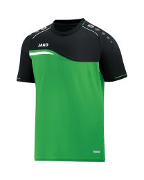 JAKO T-shirt Competition 2.0 soft groen/zwart