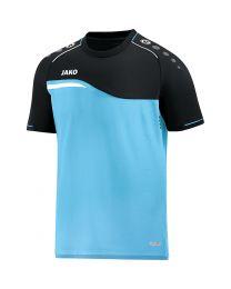 JAKO T-shirt Competition 2.0 aqua/zwart