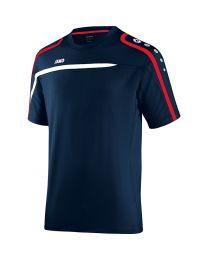 JAKO T-Shirt Performance marine/wit/rood