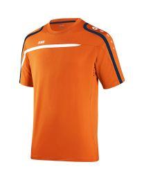 JAKO T-Shirt Performance fluo oranje/wit/marine