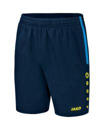 JAKO Short Champ marine/JAKO blauw/fluogeel