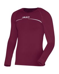 JAKO Shirt Comfort LM bordeaux