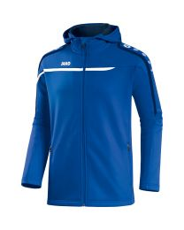 JAKO Jas met kap Performance royal/wit/marine
