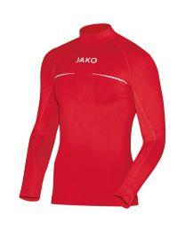 JAKO Shirt opstaande kraag Comfort rood